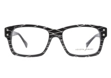 Joseph Marc 4085 Midnight Black Grid