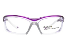 OnGuard Safety Glasses 220S Purple 55