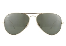 Ray-Ban RB3025 001 58 Aviator Gold Green Polarized 58