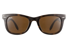 Ray-Ban RB4105 710 Folding Wayfarer Tortoise 50
